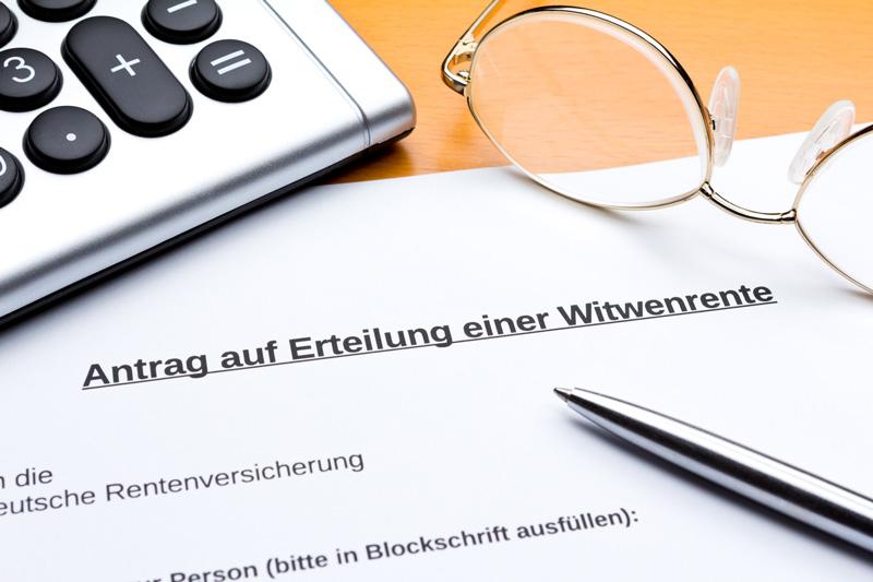 "Witwenrente | Witwerrente – ""Die Hinterbliebenenversorgung"""