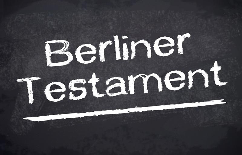 """Berliner Testament – """"Das Partnertestament"""""""