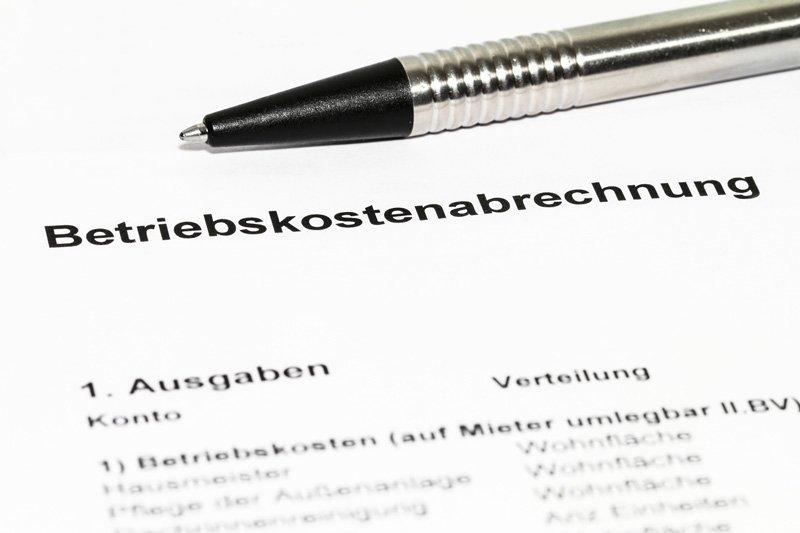 """Betriebskostenabrechnung – """"Nicht alles darf umgelegt werden"""""""