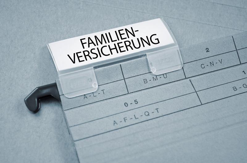 """Familienversicherung – """"Voller Krankenversicherungsschutz für die Familie"""""""