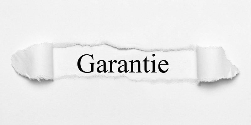 """Garantie – """"Ein zusätzlicher Schutz für den Käufer"""""""