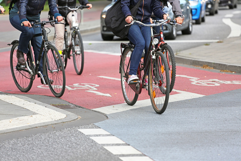 """Rund ums Fahrrad – """" Seien Sie achtsam"""""""