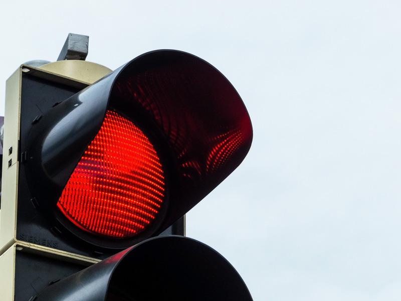 """Rotlichtverstöße – """"Vorsicht rote Ampel"""""""